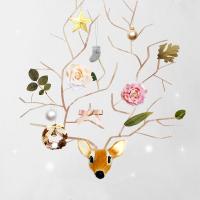 Christmas Card 2013 トナカイツリー 完成
